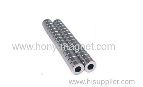 N35-N52 all grade ring shape Neodymium magnet
