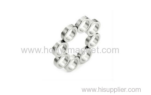 sintered small permanent ndfeb magnet ring