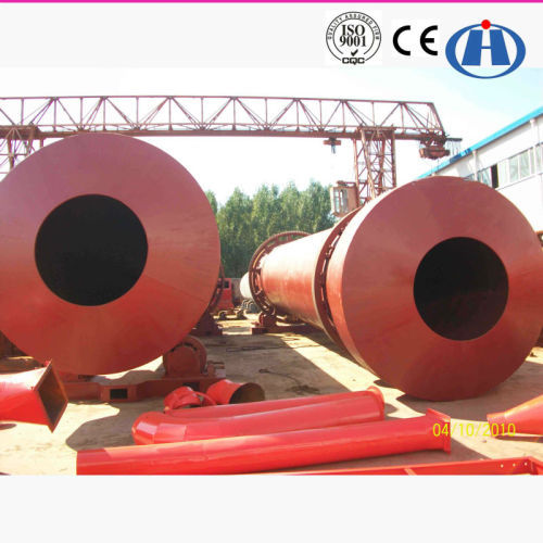 High Effeciency Small Sand Rotary Dryer for Sale with Full Service