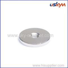 Disc Permanent NdFeB Magnet with Hole