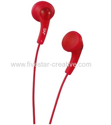 JVC Gumy Phones Headphone Earbuds HA-F150 Red From China manufacturer