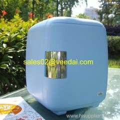 Car Cooler and Warmer Box/6L wine cooler/air cooler/bottle cooler/beer thermo electric box/mini bar fridge