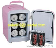 4L mini Fridge/hotel mini bar fridge/car mini fridge