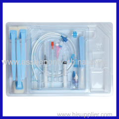 medical Central Venous Catheter Kit with Dressing