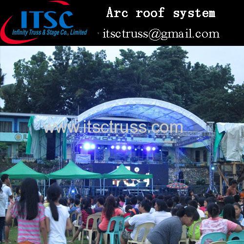 Lighting truss Aluminum stages china