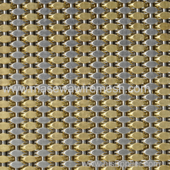 woven wire mesh for elevator decoration