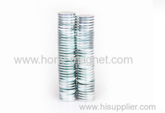 Good quality plating nickel neodymium disc 35H magnets