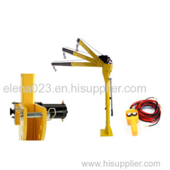 HP1000 12V DC Mini Truck Crane/Electric Hoist