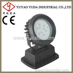 170 monochrome aluminium lamp