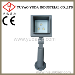 105 bar led outdoor wall spot light with white cover