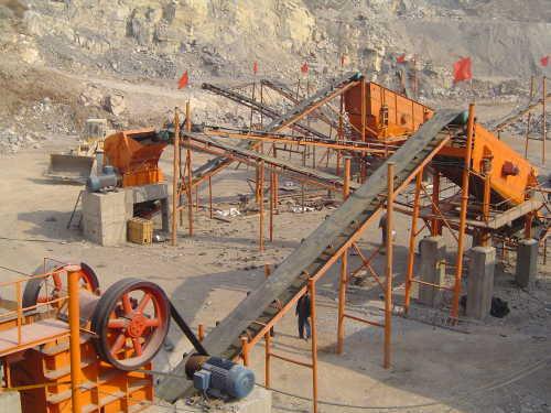 Hot sale mining equipment stone production line
