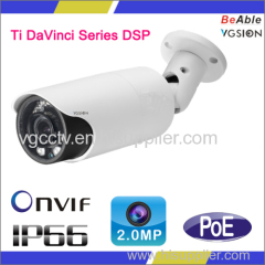 2.0 Megapxiel IP Camera Ti davinci Chipset CCTV Camera