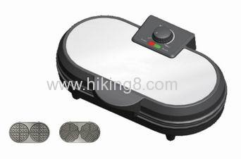 hot sale press grill cool-touch handle cake maker