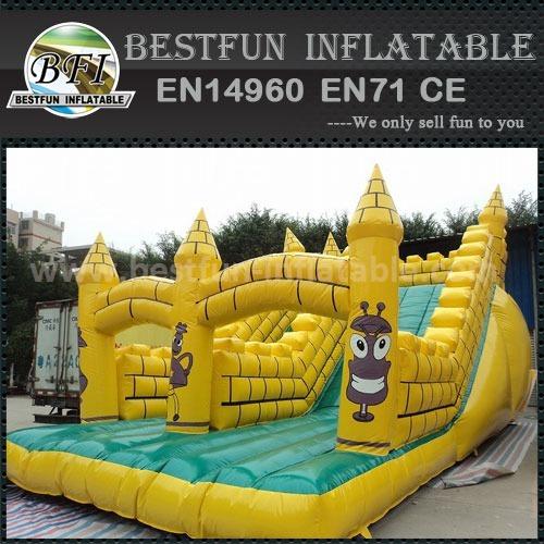 PVC Tarpaulin Material Inflatable Slide Price