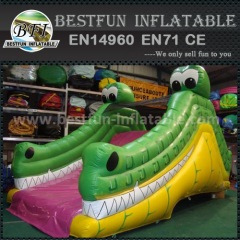 0.55mm crocodile inflatable slide