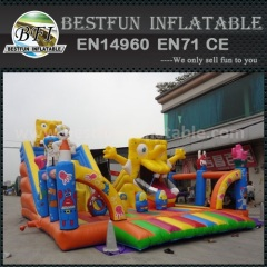 Spongebob Squarepants Inflatable Slide
