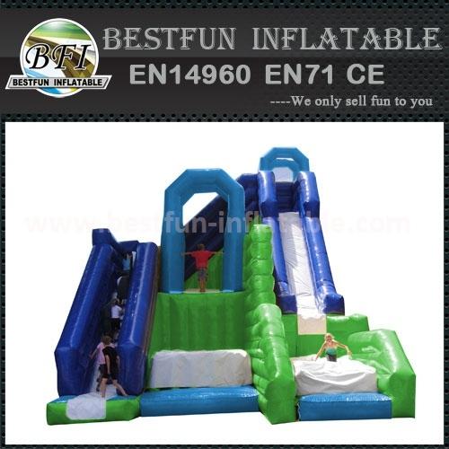 Jump n slide inflatable slide