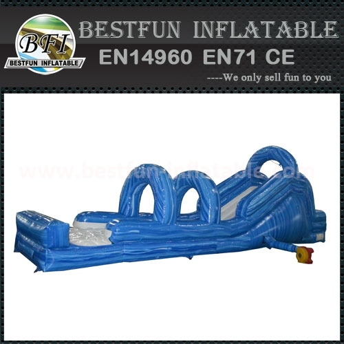 rear load inflatable water slide manufacture