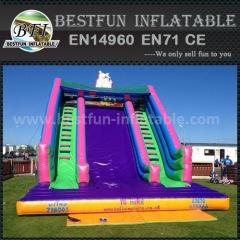 Factory direct commercial inflatable slide for sale