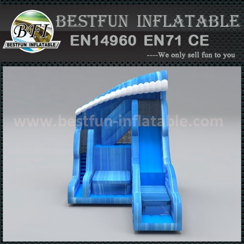 Inflatable Shock Wave Slide