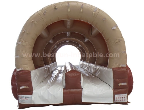 Attractive carriage inflatable slip and slide pool