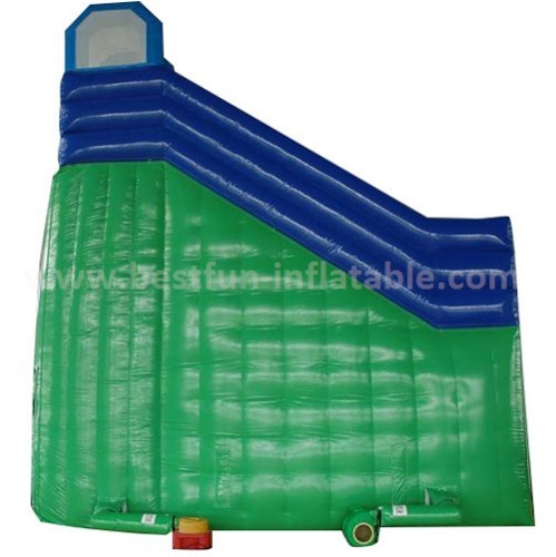 Commerical jumping inflatable dry slide