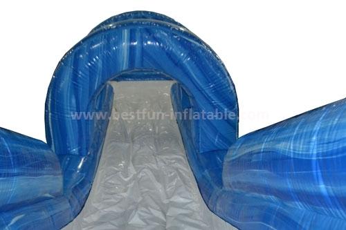 Giant inflatable slip n slide pool
