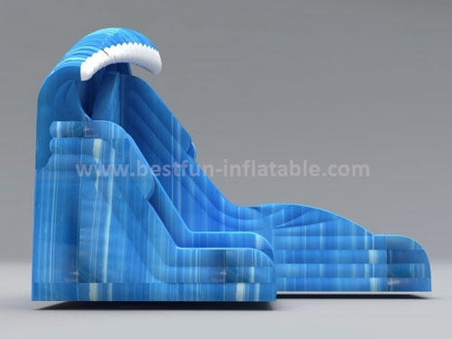Ocean Wave Inflatable Jumping Slide