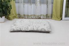 Softabelと通気性のリネン生地のペット用ベッド