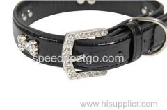 L: 2.5 * 50cm groot formaat lederen halsband