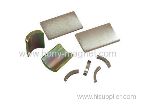 neodymium magnet arc strong magnet for motor