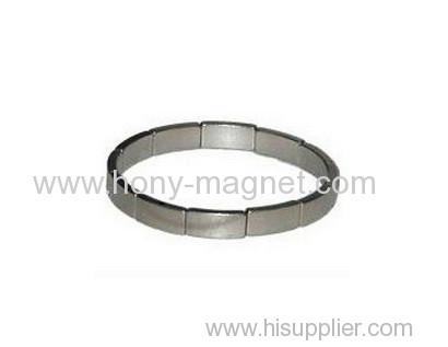 Popular N38 segment and Arc neodymium magnet