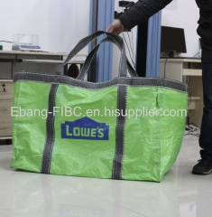 2 loop green construction use jumbo size container bag