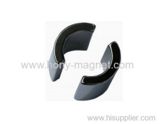 High Performance Neodymium Magnet Segment Shaped