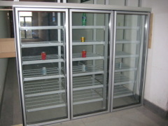glass doors for freezers with LED lights