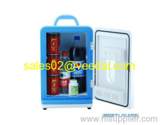 Car Cooler and Warmer Box/13.5L wine cooler/air cooler/bottle cooler/beer thermo electric box/mini bar fridge