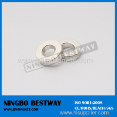 Nickel coating NdFeB Ring Magnet