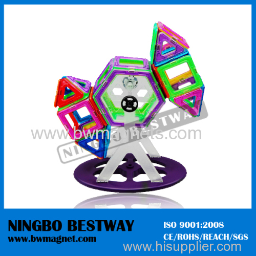 3-D Colored Magformer Magnetic Construction Toy