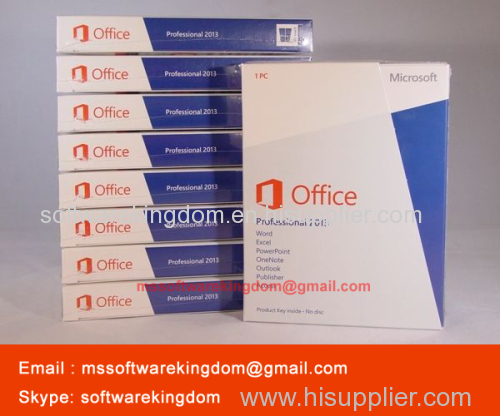 wholesale 100 original microsoft office 2013 professional pkc fpp
