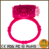 Silicone pink Vibro Ring Cock ring Delay Ring penis ring Great Sex Toy for Men