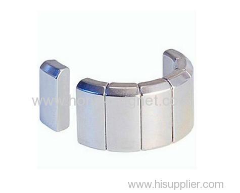 N35 Neodymium Magnet Segment/ Rare Earth Magnet Segment