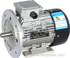 YL efficent aluminum housing three-phase asynchronous motor for driving