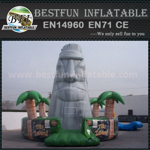 Large inflatable climbing mountain for amusement park