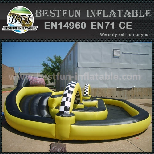 PVC Go Karts Inflatable Race Track