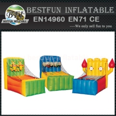 Latest amusement park inflatable shoot game