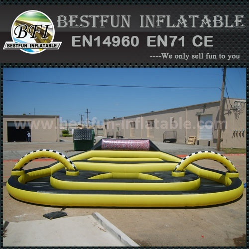 Latest inflatable air race track for sale