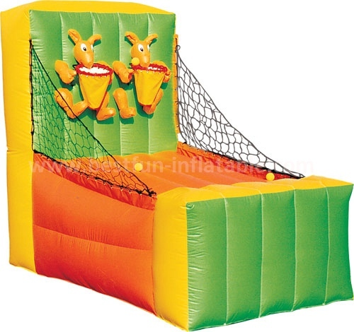 Outdoor inflatable shooting sports game