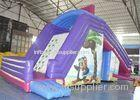 Huge Waterproof Children Commercial Inflatable Slide For Pool Rental