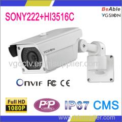 POE & WIFI 1080P Indoor & Outdoor Bullet IP Camera