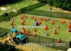 Speedball Inflatable Psp Paintball Bunkers / Inflatable Games For Kids